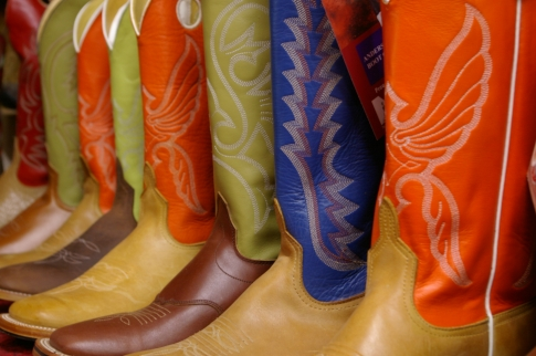 Cowboy boots from Norma's Jean's n' Boots