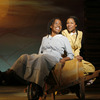 "Jeannette Bayardelle (Celie) and LaToya London (Nettie) starred in the first national tour of ""The Color Purple,"" the theatrical adaptation of the award-winning novel."