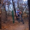Lake Thunderbird State Park in Norman features a mountain biking trail that is popular with biking enthusiasts.