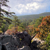 Stunning vistas along the hiking trails at Robbers Cave State Park near Wilburton attract hikers and campers year round.