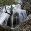 Turner Falls cascades into a natural swimming pool enjoyed by visitors all summer long.  The 77-foot tall waterfall is the centerpiece of Turner Falls Park in Davis where guests can swim, camp, hike and enjoy the great outdoors in the ancient Arbuckle Mountains.