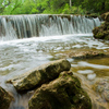The many small waterfalls along Travertine Creek at the Chickasaw National Recreation Area in Sulphur make perfect swimming holes and wading spots for campers and hikers.