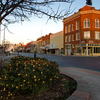 Ardmore exudes small-town charm with its historic architecture along Main Street.