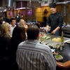 The chefs of Musashi's Japanese Steakhouse in Oklahoma City turn your evening meal into performance art as they slice and dice and grill your meal to perfection at the table.