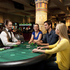Guests try their hand at one of the gaming tables in the Grand Plaza Cairo of WinStar World Casino in Thackerville. The casino features gaming plazas themed after the great cities of the world including London, Paris, Beijing, Rome and Cairo. The Cairo plaza includes a variety of table games, over 500 slot machines and the Stone Ranch Steakhouse.