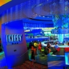 The Energy Bar located in the center of the gaming floor at the Riverwind Casino is a full-service bar and also offers patrons the opportunity to play electronic gaming machines right at the bar.