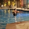 The Choctaw Casino Resort Hotel features a fabulous indoor pool area. During the summer, the outdoor area features saltwater pools, hot tubs, a lazy river, water slides and even dive-in movies so visitors can enjoy the water indoors or outdoors.