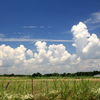 The scenic byways of Oklahoma offer wide open skies and picturesque scenery.