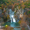The amazing cascades of Turner Falls Park are a must see.  This scenic view from the overlook is just a few minutes off I-35 at the Davis exit in south central Oklahoma.