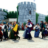 Each May, the Castle of Muskogee plays host to the Oklahoma Renaissance Festival featuring costumed characters, a medieval village and dozens of craftsmen and food booths.