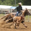 Cowboys compete in exciting rodeo events during the Cattlemen's Convention in Pawhuska.