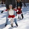 The whole family will enjoy ice skating in the outdoor rink within the Myriad Botanical Gardens during the Downtown in December celebration in Oklahoma City.