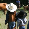 Even the littlest cowboys have a great time tapping into the Western spirit in Oklahoma.