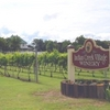 The bed and breakfast at Indian Creek Village Winery & Inn looks over the scenic, well-tended vineyards of the winery.