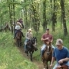 Equestrians come from far and near to participate in trail rides on the grounds of the Woolaroc Ranch, Museum and Wildlife Preserve in Bartlesville each spring and fall.