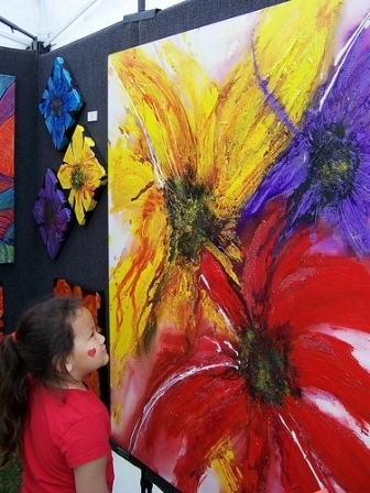 Original works of art are displayed by dozens of artists from across the region during the May Fair Arts Festival in Norman each spring.  In addition to visual art, the festival also offers live entertainment, tasty food and plenty of fun family activities.