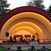 The band shell at Crystal Beach Park in Woodward hosts live entertainment.