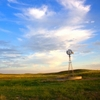 Expansive skies and endless plains surround this icon of the Old West found near Woodward in western Oklahoma.