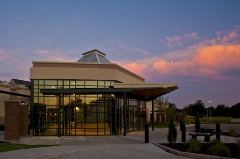 The Cherokee Strip Regional Heritage Center, located in Enid, is a 24,000 sq. ft. facility that features five exhibit galleries interpreting the settlement and development of northwest Oklahoma.