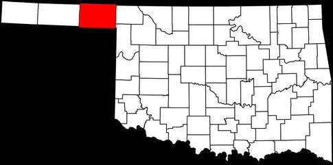 Beaver County in the panhandle of Oklahoma.