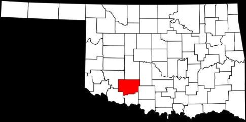 Comanche County in southwest Oklahoma.