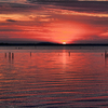 The amazing sunsets over Lake Eufaula are a sailor's delight.