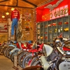 The former Seaba Filling Station in Warwick is now a Route 66 landmark and home to the Seaba Station Motorcycle Museum with more than 65 vintage motorcycles on display.