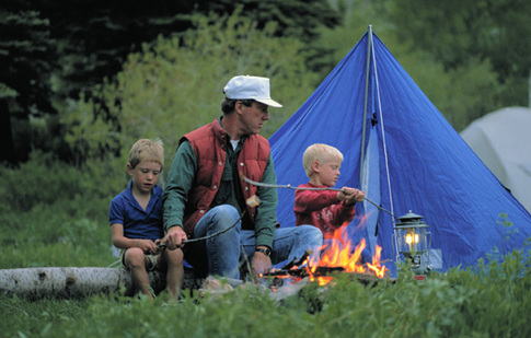Oklahoma camping trips build lasting family memories.  Get the whole family outdoors and enjoy Oklahoma's state parks, lakes, forests and outdoor recreation areas.