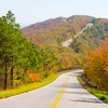 Drive right over the crests of the Ouachita Mountains on the Talimena National Scenic Byway in southeast Oklahoma.  Make your journey during late October or early November and enjoy the magnificent autumn foliage of the Ouachita National Forest.