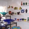 Stop by Blue Sage Studios in Oklahoma City to peruse the beautifully crafted blown glass creations in their gift shop, watch a glassblowing demonstration or sign up and take a Saturday class to learn basic glassblowing techniques.