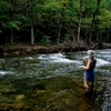 Fly-fishing is just one of the ways to relax and unwind at Beavers Bend State Park in Broken Bow.