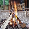 Build family memories while roasting marshmellows and telling stories around a campfire at the luxurious Pine Meadow Cabins in the Beavers Bend area of southeast Oklahoma.