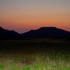 Day breaks over Mt. Scott in the Wichita Mountains Wildlife Refuge near Lawton.
