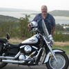 Lake Eufaula is a popular cruising spot for motorcyclists in eastern Oklahoma.