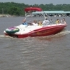 Kaw Lake is a haven for boaters in the summer.