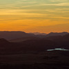 Sunset over the Wichita Mountains as seen from Mt. Scott in the Wichita Mountains Wildlife Refuge near Lawton.