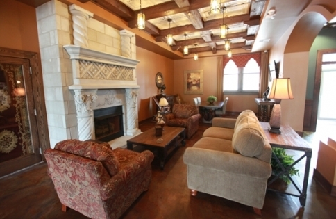 The Campbell Hotel in Tulsa will awe visitors with its beautiful lobby.
