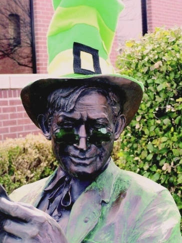 Wear your green and celebrate St. Patrick's Day in downtown Claremore during the city's St. Paddy's Party, where even the local statues of Will Rogers get decorated for the holiday.