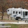 At Lake Thunderbird State Park's Turkey Pass campground, each RV pad comes with its own picnic table.