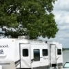 The Elephant Rock campground at Lake Murray State Park in Ardmore is great for big rigs and offers lake views.