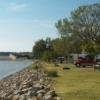 RV camping is available right on the lake at Great Salt Plains State Park in Jet.