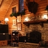 The great room in the lodge at Angels Way Guest Ranch in Luther.