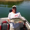 Fisherman Kevin Duncan reeled in this 10-pound, 10-ounce bass on The Lake of the Arbuckles.