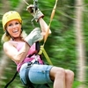 Fly through the trees during a zip lining tour at POSTOAK Canopy Tours near Tulsa.