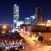 Downtown Oklahoma City and the Bricktown Entertainment District offer a range of nightlife opportunities.