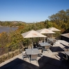 Enjoy a meal with a view at the lodge restaurant at Roman Nose State Park in Watonga.