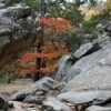 Fall is the perfect time to enjoy hiking and climbing among the rocks at Robbers Cave State Park in southeast Oklahoma.