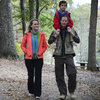 The hiking trail system at Beavers Bend State Park is a favorite for families and hikers of all skill levels.