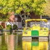 Enjoy a canal cruise through the Bricktown Entertainment District with a water taxi tour.
