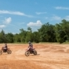Many visitors to Lake Murray State Park enjoy riding their dirt bikes and ATVs around the park.